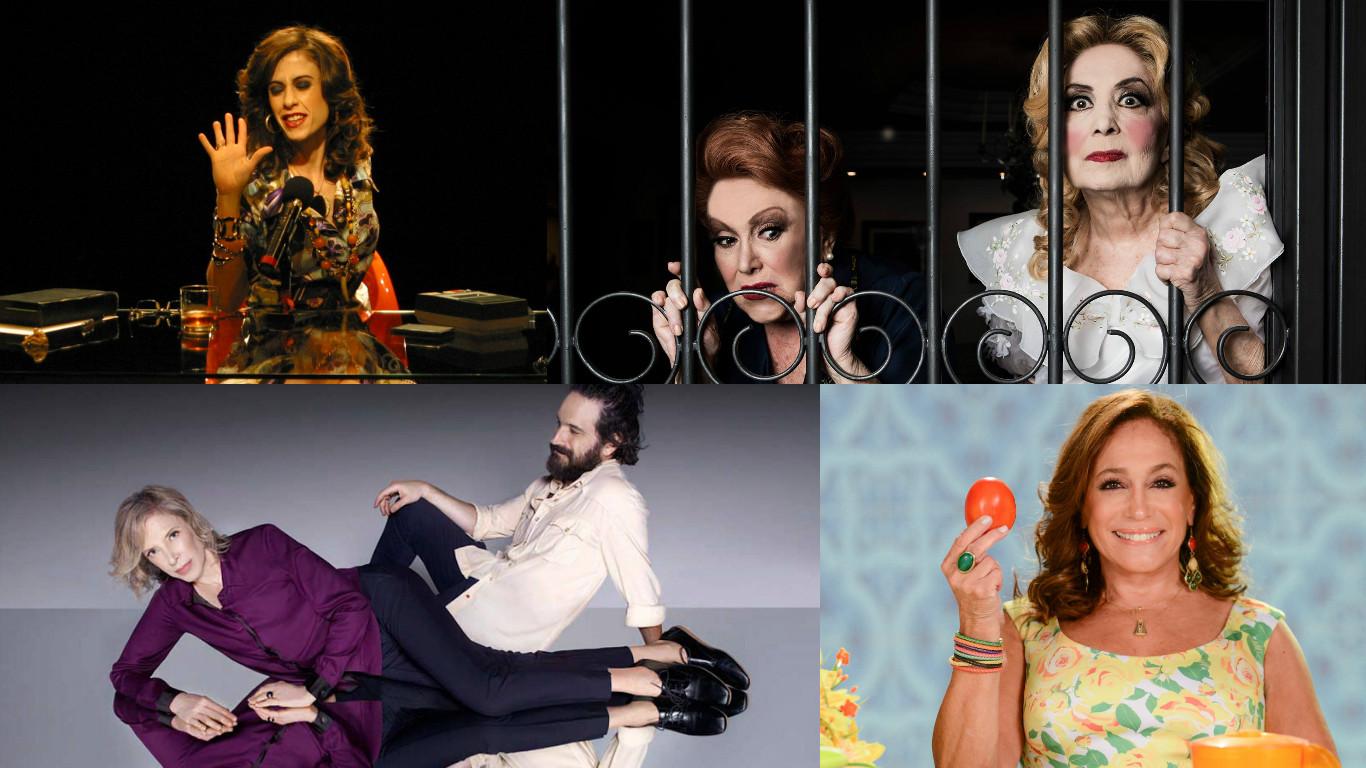 mulheres no teatro