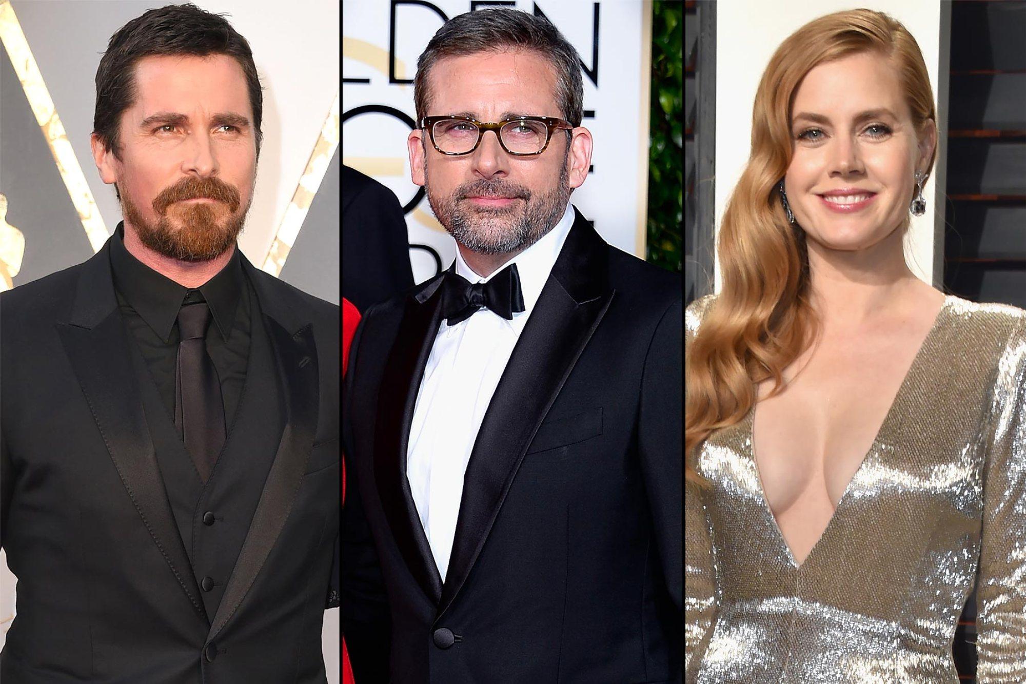 Christian Bale, Amy Adams e Steve Carell podem estrelar novo filme de Adam McKay