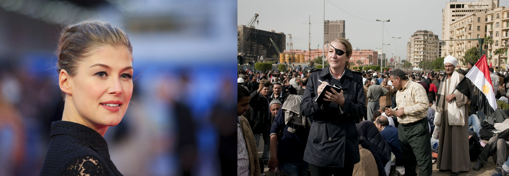 Rosamund Pike vai interpretar repórter Marie Colvin em drama