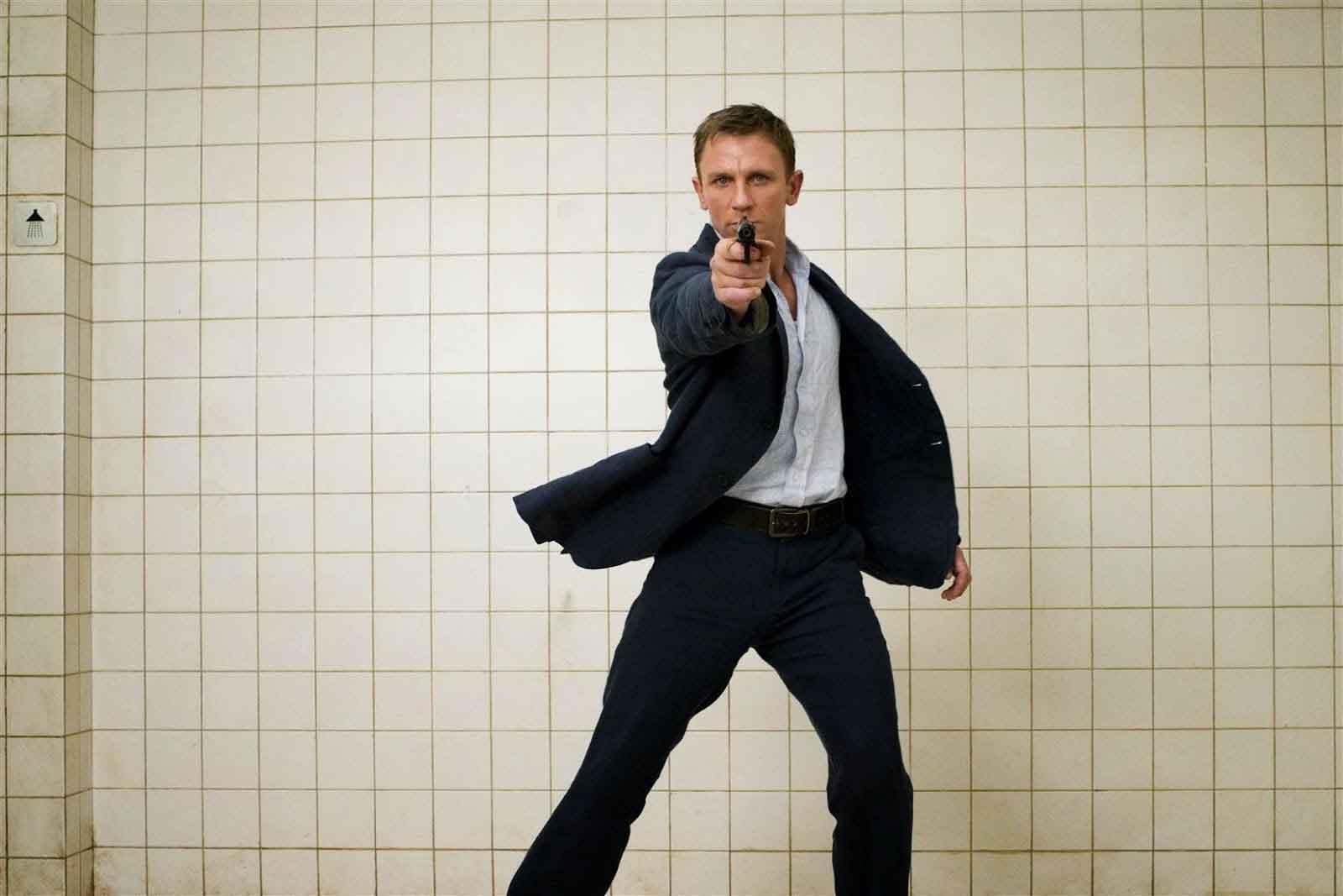 Daniel Craig é confirmado em novo 007
