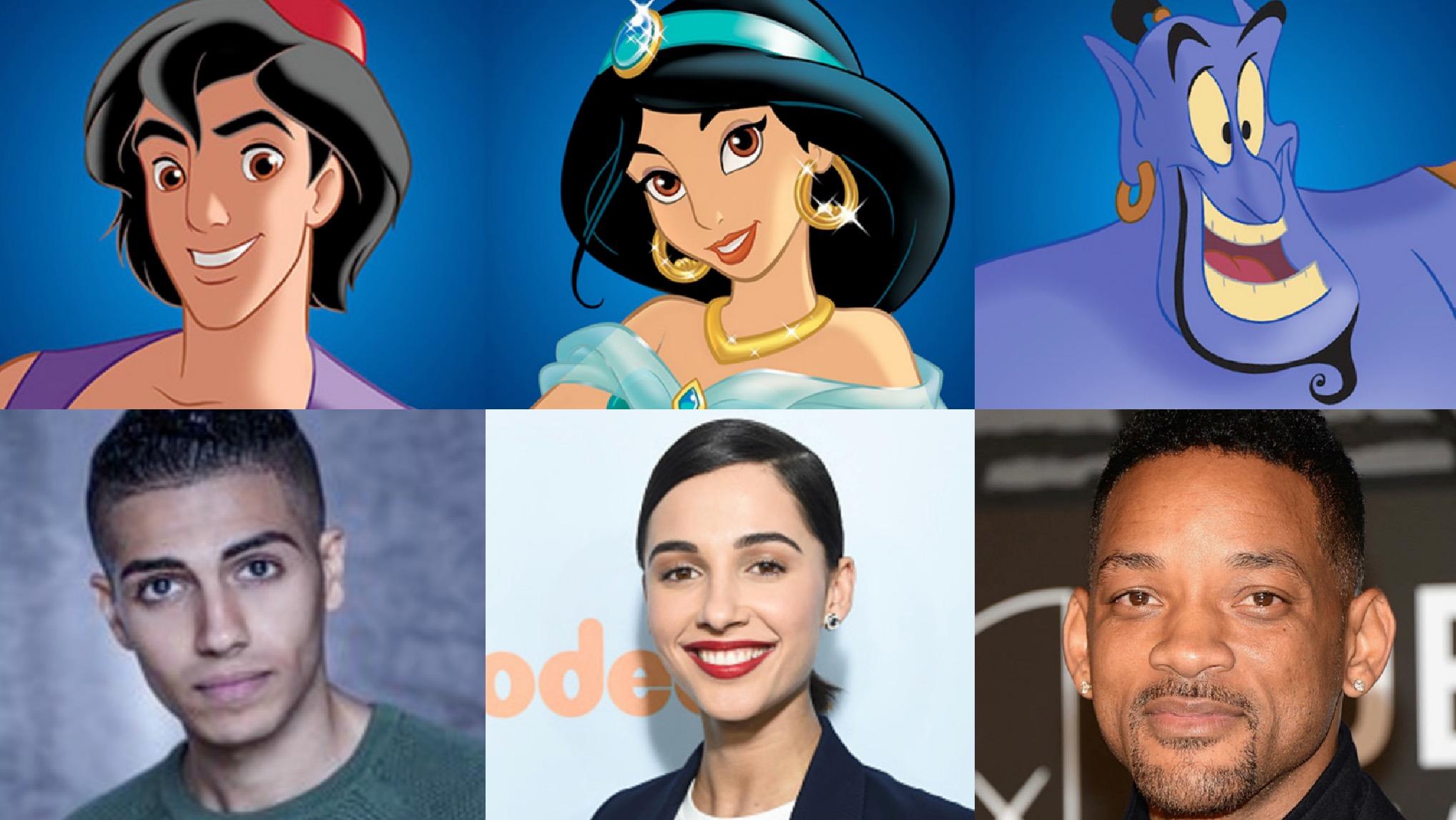 Disney anuncia elenco de Aladdin