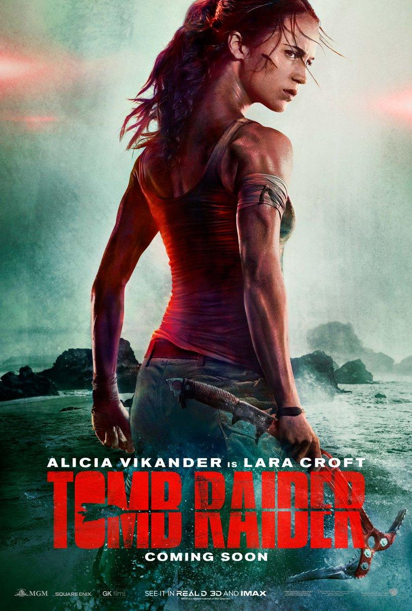 Alicia Vikander é Lara Croft em trailer de reboot