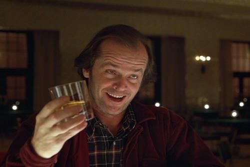 Jack Nicholson – O Iluminado – bar