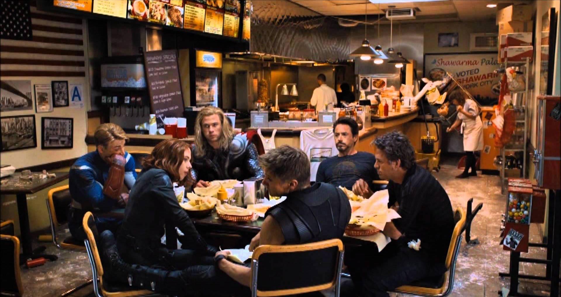 Os Vingadores – Shawarma
