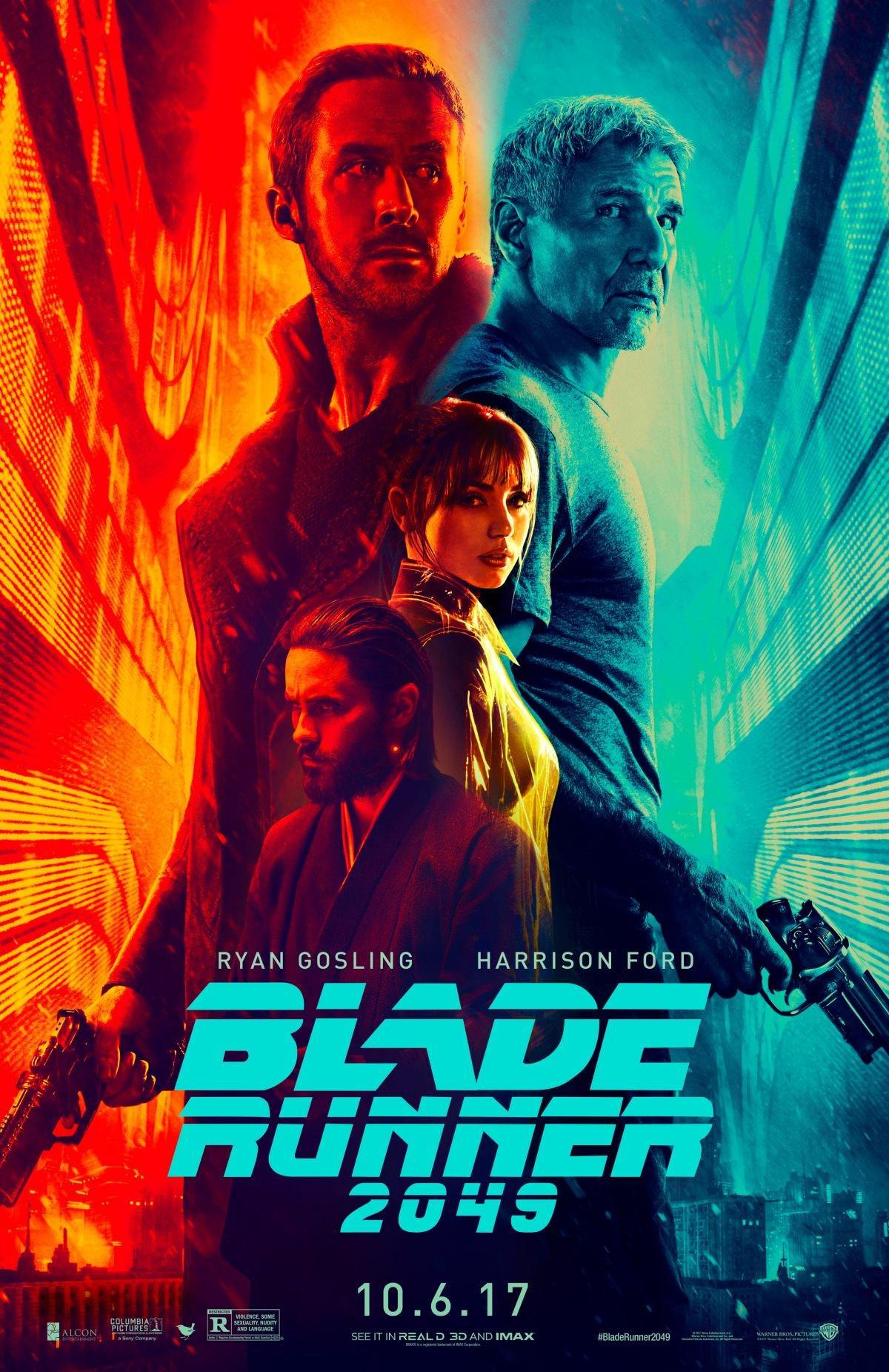 melhores lançamentos de outubro blade runner 2049