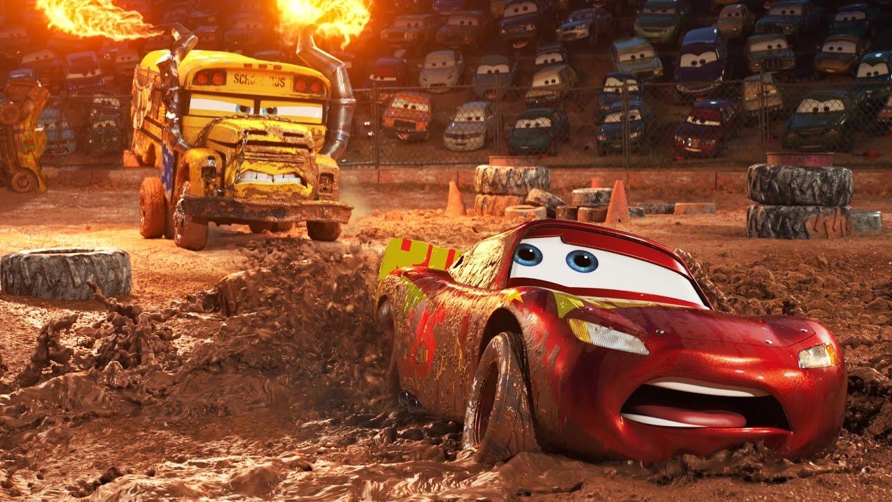 Carros 3 – melhores animacoes 2017