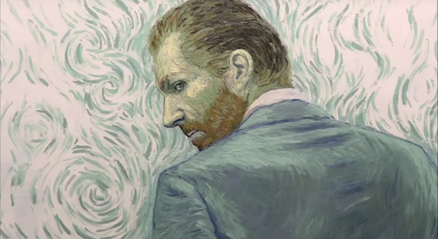 Com Amor Van Gogh – Loving Vincent – melhores animacoes 2017