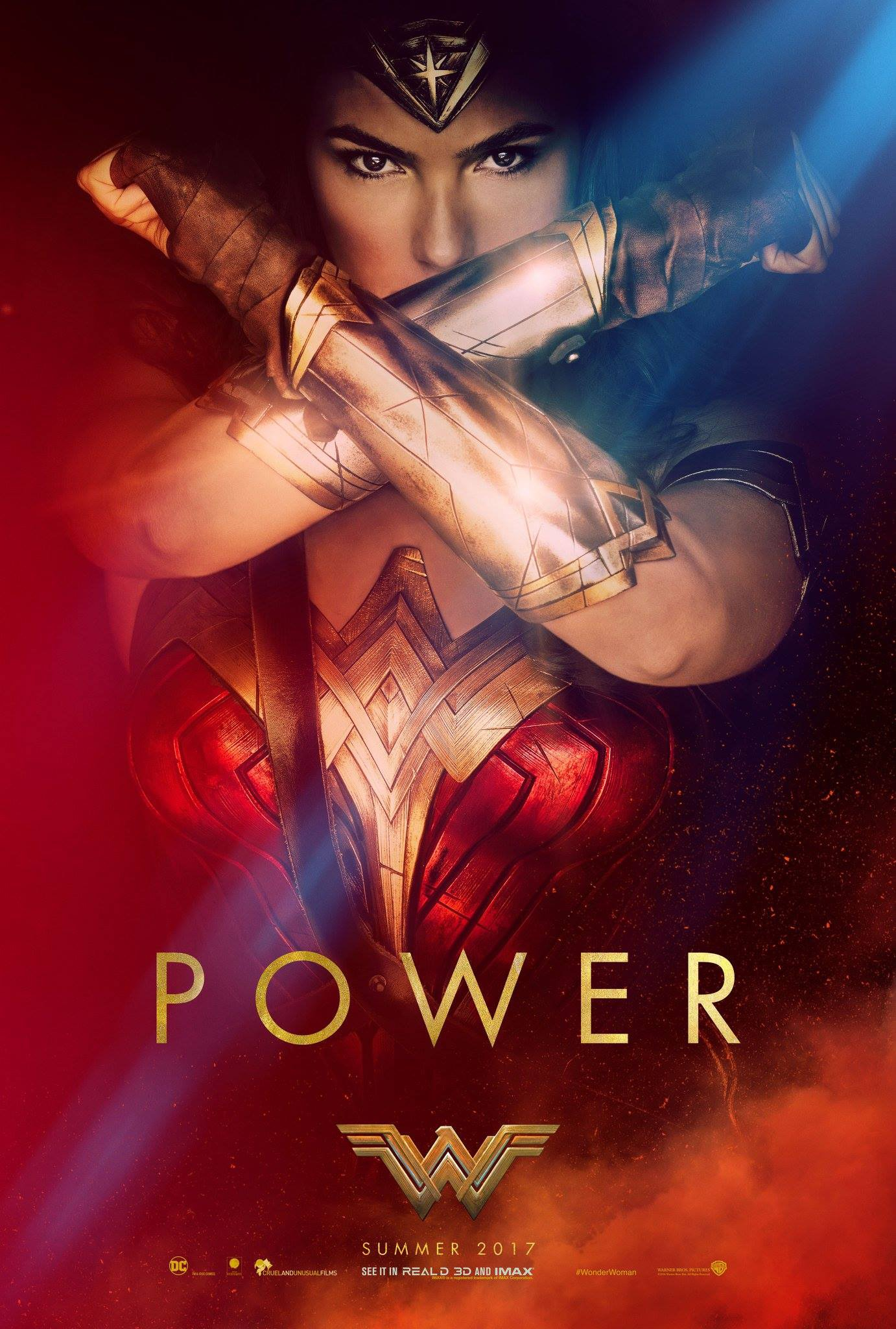poster mulher maravilha power