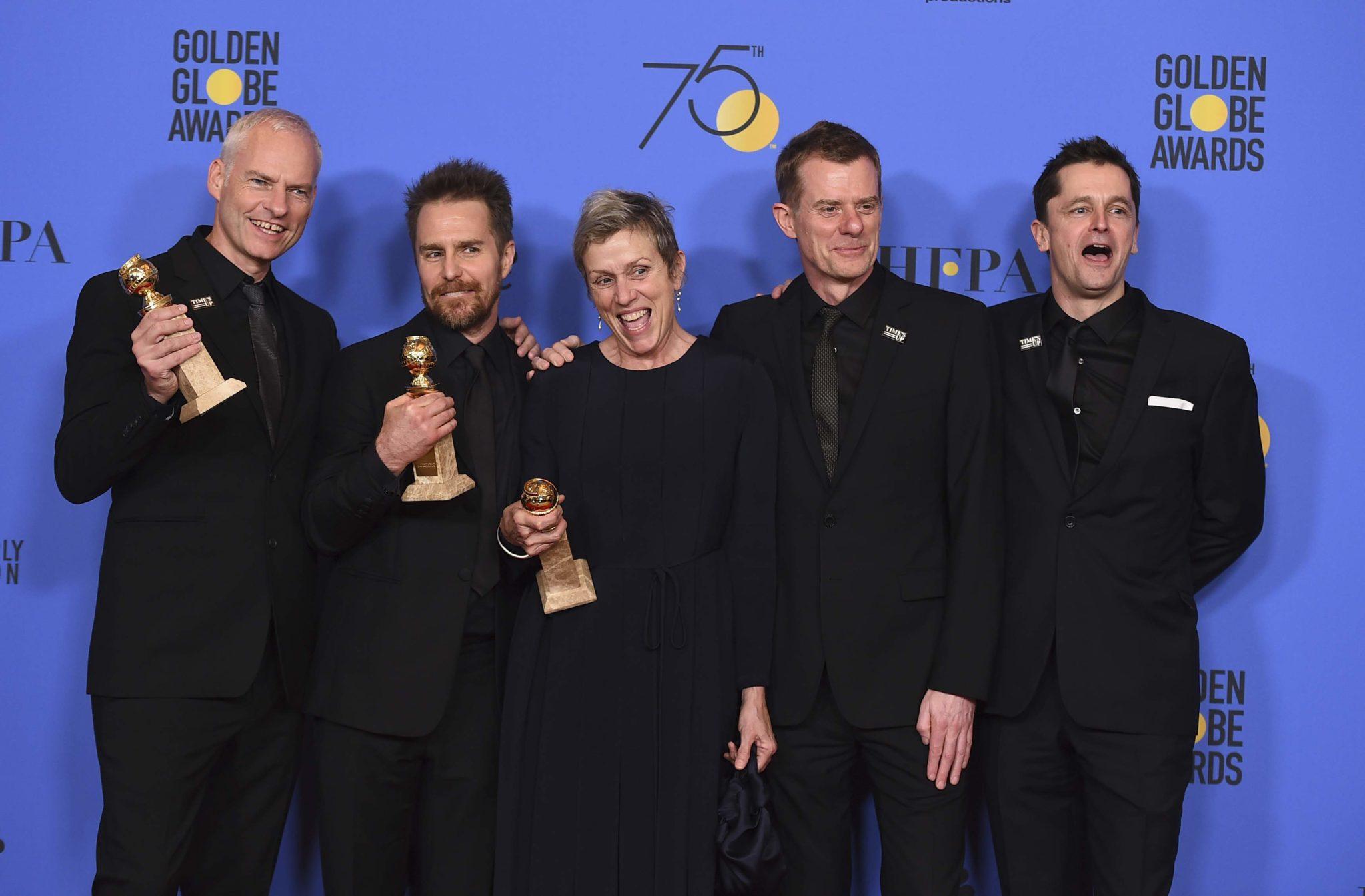 Globo de Ouro 2018 veja a lista de ganhadores