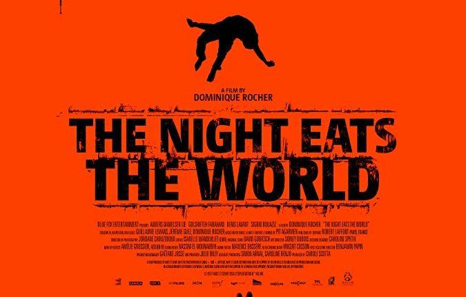 Poster a noite devorou o mundo